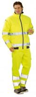 Jólláthatósági télikabát ,sárga, esőálló