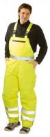 Jólláthatósági téli melles nadrág eső ellen, sárga