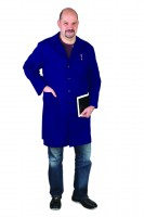 Férfi köpeny hosszúujjú, kék