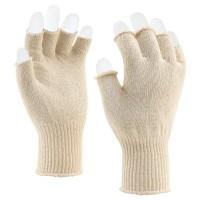 Gebreide katoenen handschoen
