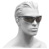 Arbeitsschutzbrille mit grauen Gläsern