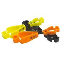 Pince de fixation de gants (noir, orange, jaune)