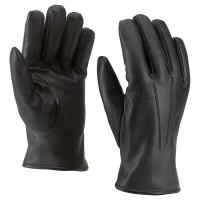 Handschoen van schaapsnappa met bontvoering