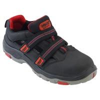 EXPERT S1P SRC, sandale de protecție fără metal, cu talpă din cauciuc