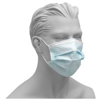 Szájmaszk -PP 3 rétegű higi.maszk, kék, 50 db/csom.