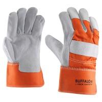 Rundsplitlederen handschoen