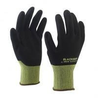Nylon/spandex montagehandschoen met nitril foam palmcoating