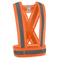 Jólláthatósági vállpánt, narancssárga