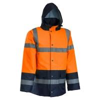 ROCK Visoko vidljiva zimska jakna, narandžasta