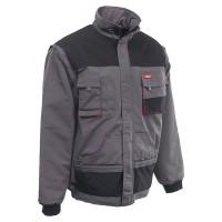 RockPro téli dzseki, szürke, levehető ujjal