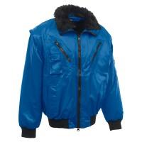 Rock pilóta dzseki, világos kék