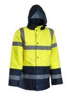 ROCK Visoko vidljiva zimska jakna, žuta